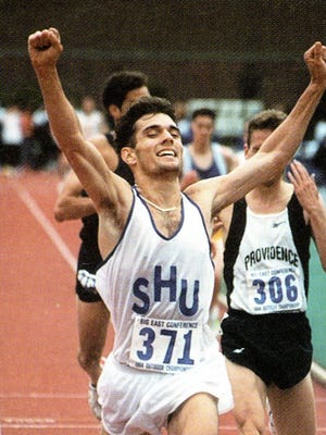 Bryan Spoonire was an eight-time Big East champion on the track for Seton Hall.
