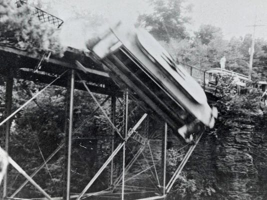 Silent Movies Wharton Trolley Crash