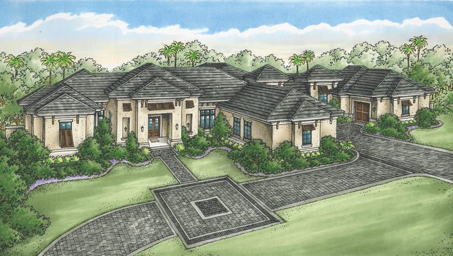 The Charleston grand estate model built by Diamond Custom Homes in Quail West has sold.