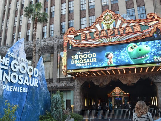 World Premiere Of Disney-Pixar's THE GOOD DINOSAUR At El Capitan Theatre