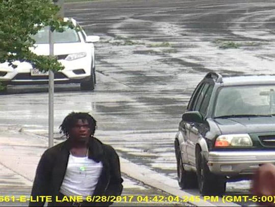 Carjacking/hit-and-run suspect