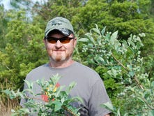 Army helicopter mechanic retires to blueberry farm