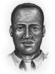 Clarksville Police released a sketch of a suspect in