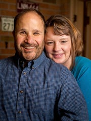 Mark Massoglia and his girlfriend, Jodee Boyd, in their