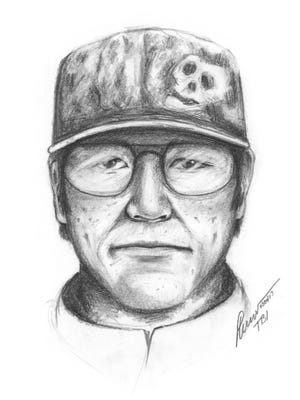 A sketch artist with the Tennessee Bureau of Investigation has created a likeness of the suspect police say robbed a Hillsboro credit union in November 2017.