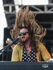 J. Roddy Walston performs at the inaugural Innings