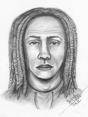 Franklin Police are searching for a sexual predator who allegedly exposed himself to a woman on April 9.