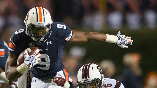 Auburn running back Roc Thomas could see more of the field down the stretch, including a package with multiple running backs.