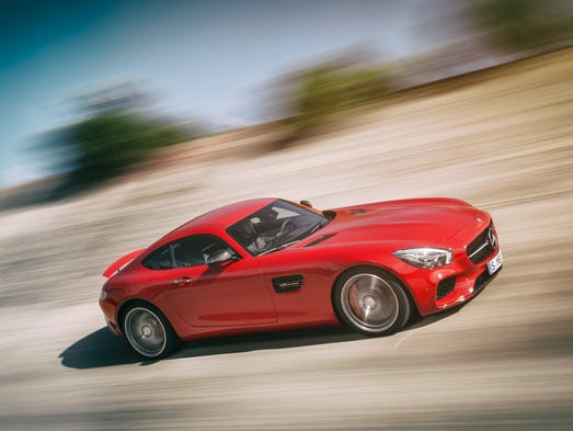 mercedes benz launches hot 120k amg gt sports car