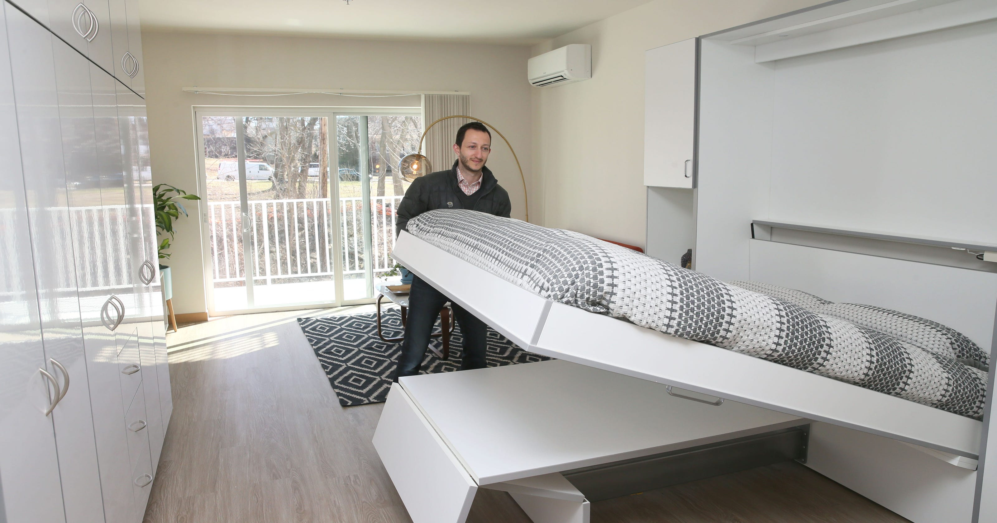 Micro apartments make the most from little space as developers pitch ...