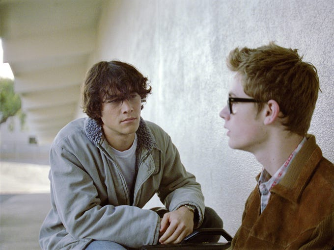Joseph Gordon-Levitt (left) and Matt O'Leary star in