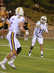 Tennessee Tech starting quarterback Andre Sale, 11,