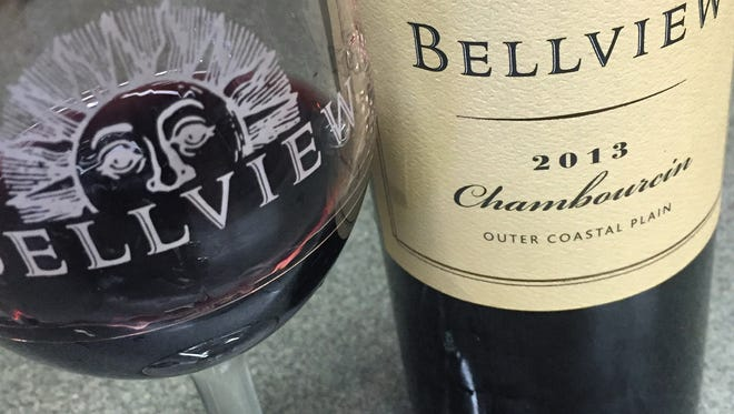 Bellview's label tells you that all of the grapes in this Chambourcin were grown in the winery's vineyards in 2013 in the Outer Coastal Plain AVA.