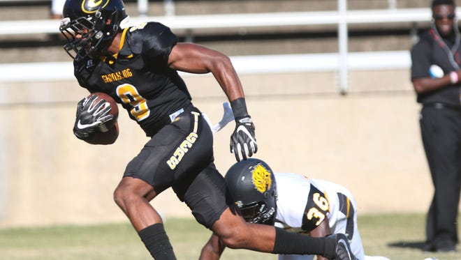 Grambling wide receiver Devohn Lindsey is expected to help pick up the slack in 2017 with the departures of Chad Williams and Verlan Hunter.