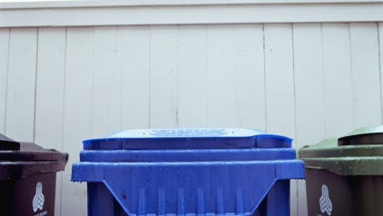 Sturgeon Bay City garbage and recycling schedule changes for Christmas Eve.