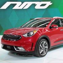 2017 Kia Niro hybrid utility vehicle
