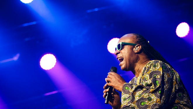Stevie Wonder performs at the 48th Montreux Jazz Festival in Montreux, Switzerland, on July 16, 2014.