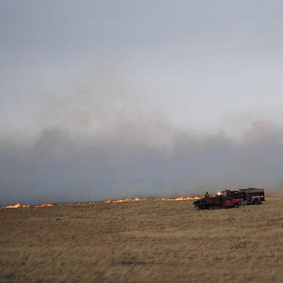 Sever fire departments responded to a fire northwest