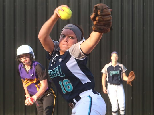 Siegel's Veronica Westfall is the Lady Stars' ace this season.