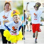 Scenes from the 36th annual Turkey Trot  on Thursday at the Cape Coral Wellness Center.  The event, presented by the Fort Myers Track Club, raises money for the Golisano ChildrenÕs Hospital of Southwest Florida.