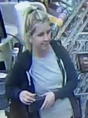 East Brunswick police are looking to identify this woman in connection with fraudulent use of credit cards.