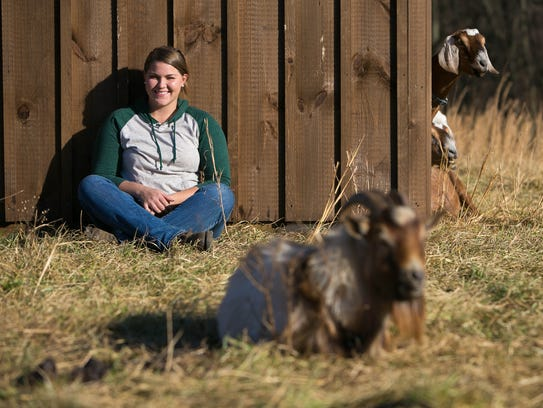Kalyn Butt of Green Grazer Goats is a startup with