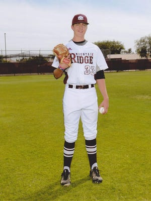 Mountain Ridge's Matthew Liberatore, a sophomore left-hander, is the top baseball player of the week.