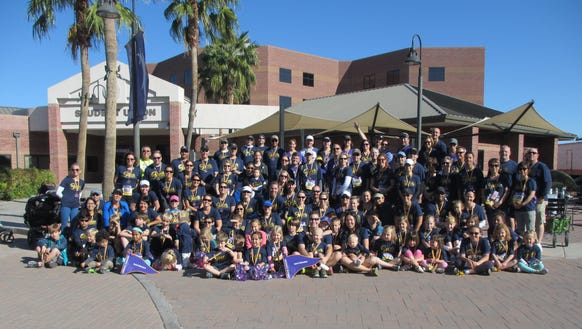 At the Run to Fight Children's Cancer, which benefits