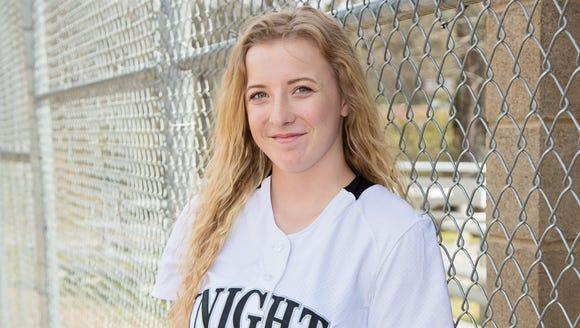 Robbinsville's Abigail Knight.