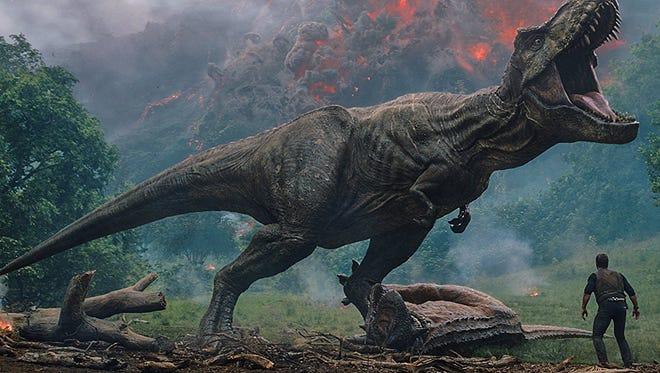 """Chris Pratt stars in """"Jurassic World: Fallen Kingdom."""""""