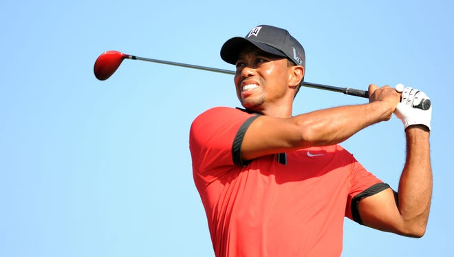 Tiger Woods was voted Player of the Year on the PGA Tour for the 11th time.