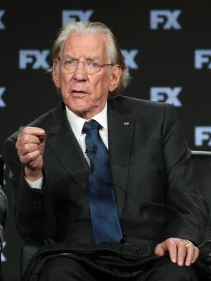 Donald Sutherland, who plays J. Paul Getty in FX's 'Trust,' credits Christopher Plummer, who plays the billionaire in 'All the Money in the World,' with providing pivotal support early in his film career.
