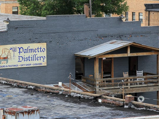 Best of Your Hometown shopping, best distillery at Palmetto Distillery in downtown Anderson.
