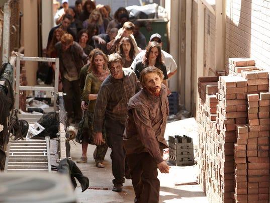 Walking Dead scene