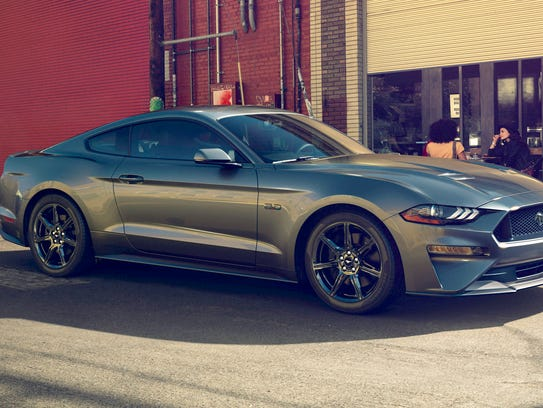 The 2018 Ford Mustang gets a lowered hood to reduce