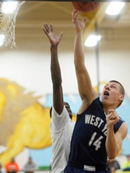 West York's Kenton Meckley is one of two returning