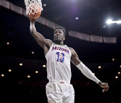 Arizona forward Deandre Ayton could be the first No. 1 overall pick in the NBA draft for the Wildcats.