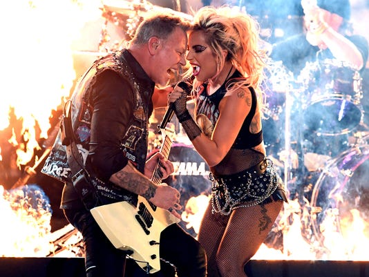Metallica and Gaga