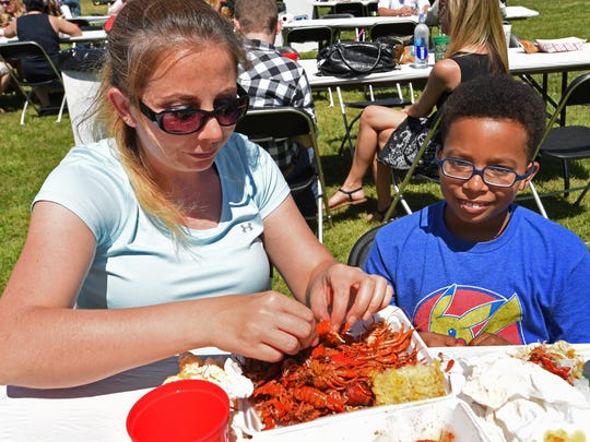 Crawfest 2017 was held Saturday at Shreveport's Betty Virginia Park.