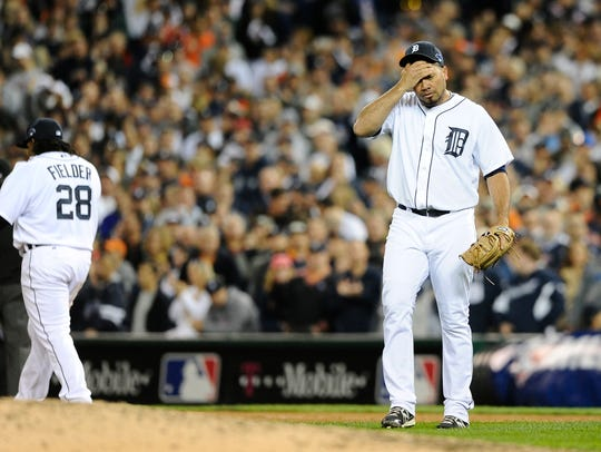Former Tigers reliever Joaquin Benoit replaced Jose
