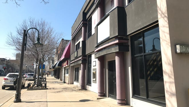 The former North Shore Bank branch in downtown Appleton is slated for redevelopment.