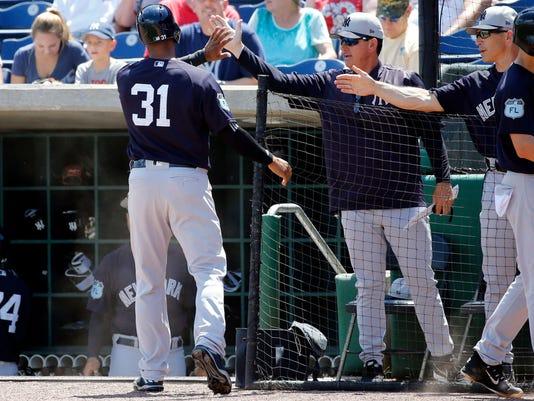 MLB Spring Training New York Yankees at Philadelphia Phillies