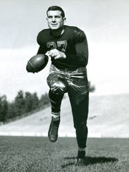 Former Michigan State football player John Pingel,