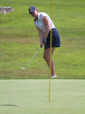 Notre Dame Academy's Erin Durstock finished tied for seventh Saturday at the Kentucky Junior Golf Foundation Senior All-Star Tournament.