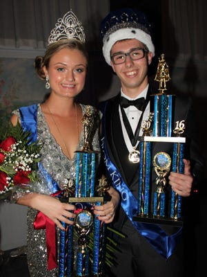 Scott Craner and Brooke Muhlbaier were named king and queen during Millville Senior High School's senior prom on May 13