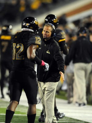 Southern Miss coach Todd Monken has his team 7-3 this season and in the thick of the C-USA title race.