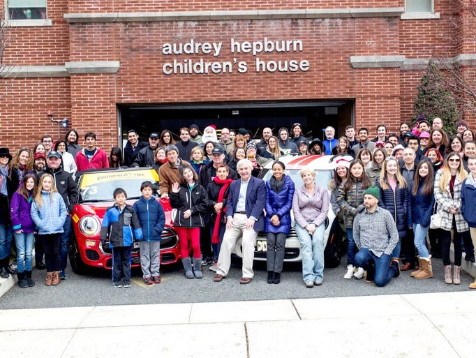 Prestige MINI of Ramsey held its Holiday Toy Drive