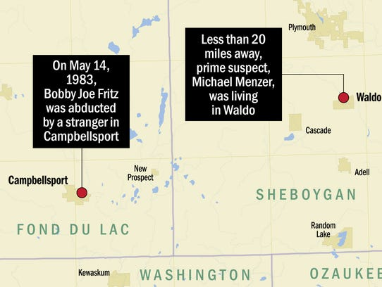 Bobby Joe Fritz disappeared on May 14, 1983 in the