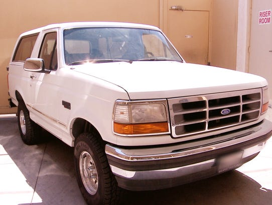 The Ford Bronco that became famous in the 1994 O.J.