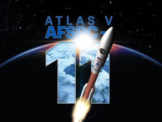 AFSPC-11 mission artwork by United Launch Alliance.